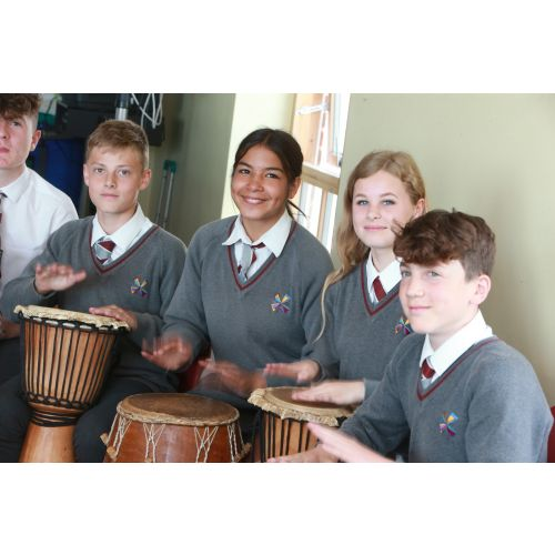 Blatch Leads Hove Music Project